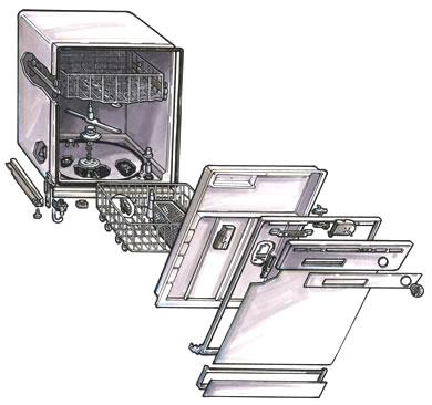 Ремонт стиральной машины Занусси своими руками 18